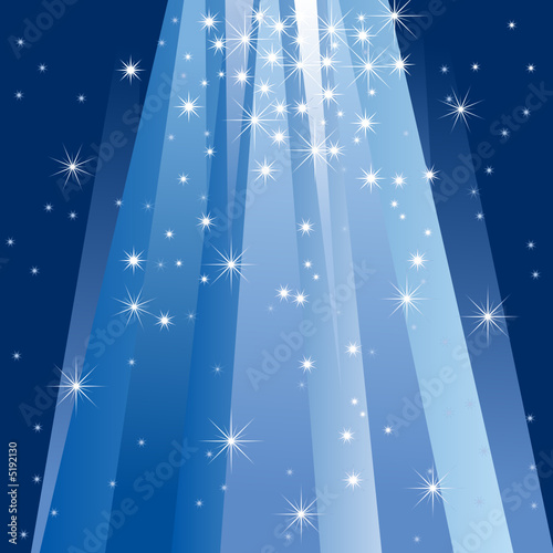 Magic Light (vector or XXL jpeg image)