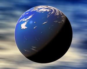 Bue fantasy planet
