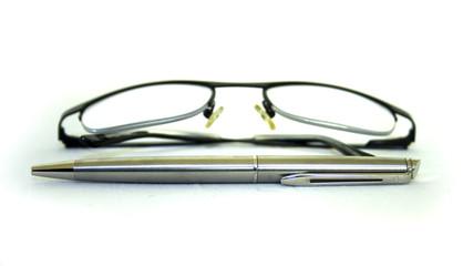 Ballpen and Glasses