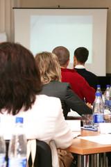 Students at the seminar