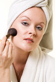 Make up application poster