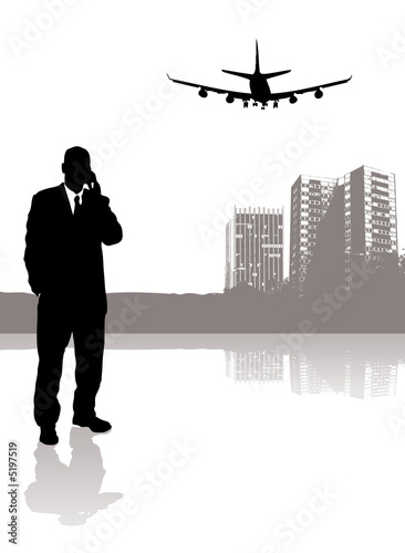 poster of business travel