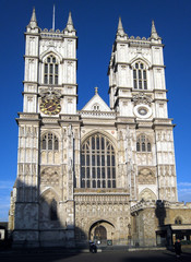 Westminster Abbey, London, west facade