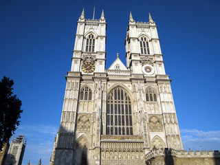 Westminster Abbey, London, west towers