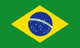brasilien fahne brazil flag poster