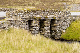 Welsh slate arched bridge poster