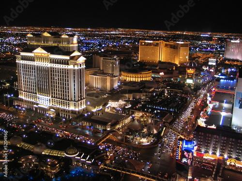 Leinwandbild Motiv Las Vegas at night