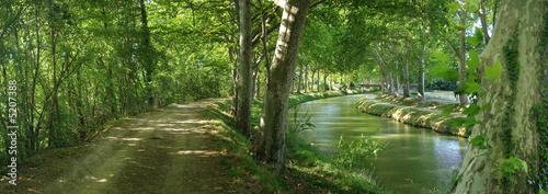 Fototapeten,kanal,süden,toulouse,region