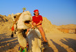 Girl on a camel