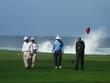 Golfspieler am Pazific