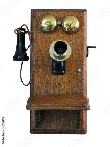 Antique Wall Telephone - 5210553