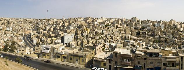 Amman, Jordan panorama