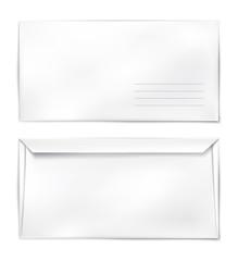 Konvert blank template