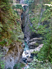 Via Mala, canyon in Switzerland