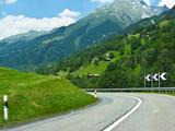Alpine countryside in Switzerland, Europe poster