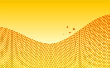 Honeycombs wave