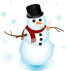 Classy Snowman
