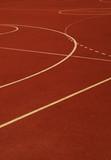 school sports field poster