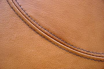cuir marron