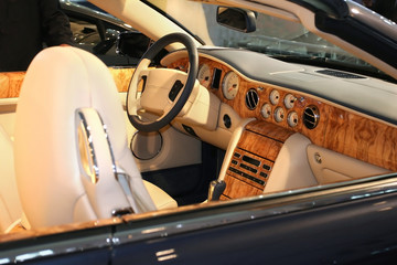 Sport car interiour
