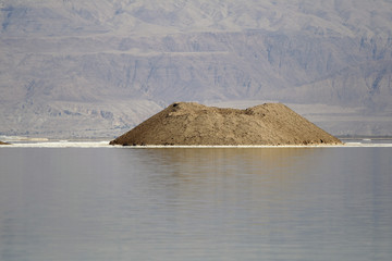 island of Dead Sea Israel
