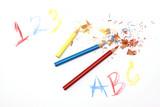 abc pencils poster