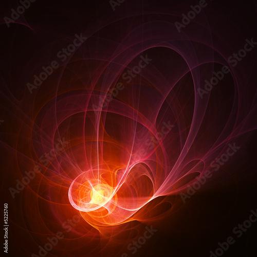 Leinwandbild Motiv powerful rays