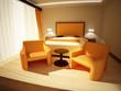 Camera da letto - 3d interior design
