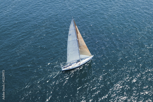 Sailboat on Ocean
