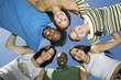 Group of Friends in a Circle