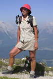 Backpacker Woman poster