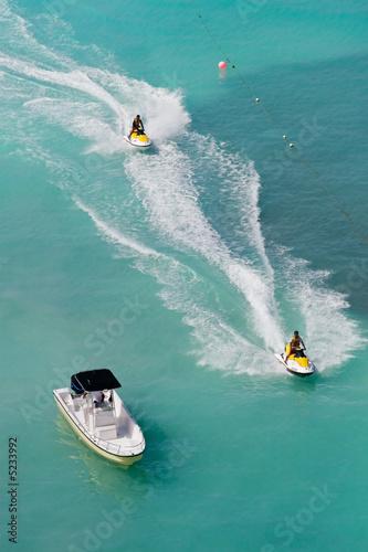 Foto op Plexiglas Water Motorsp. Tropical Jet Skis