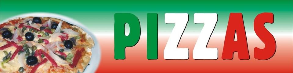 Cartel para Pizzas
