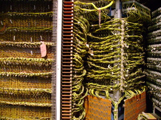cablage serveur ordinateur
