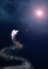 La fée et la lumière - obsidiandawn.com