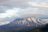 St Helen volcano at sunset, Washington poster