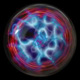 plasma ball poster