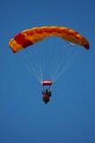 Tandem parachuting poster