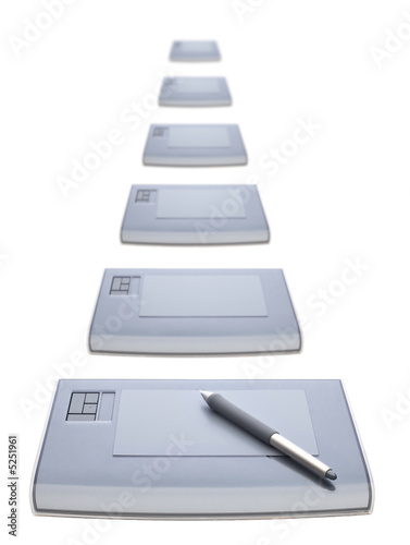 Many graphic tablets