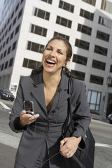 Laughing Businesswoman