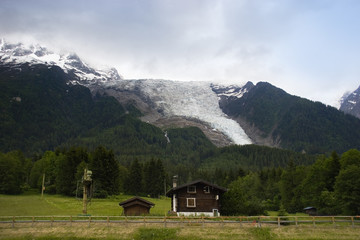 Glacier Mt. Blanc