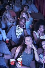 People Watching Boring Movie