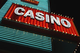 Casino Neon Sign at Night