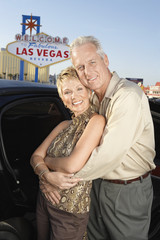 Couple On Vacation in Las Vegas