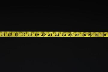 Measuring tape, detail