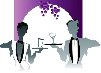 job series -  waiter/waitress