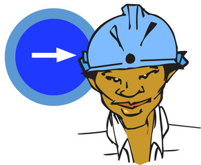job series - worker / clipart