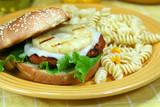 Teriyaki Vegetarian Burger poster