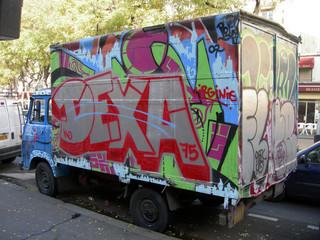 camionette graffiti