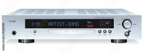 HiFi CD DVD MP3 Player